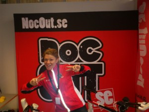 130203 Nocout.se's monter på mässan Hälsa och träning, 3