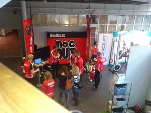 130203 Nocout.se's monter på mässan Hälsa och träning, 4